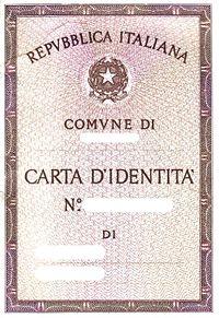 RILASCIO CARTA D'IDENTITA'