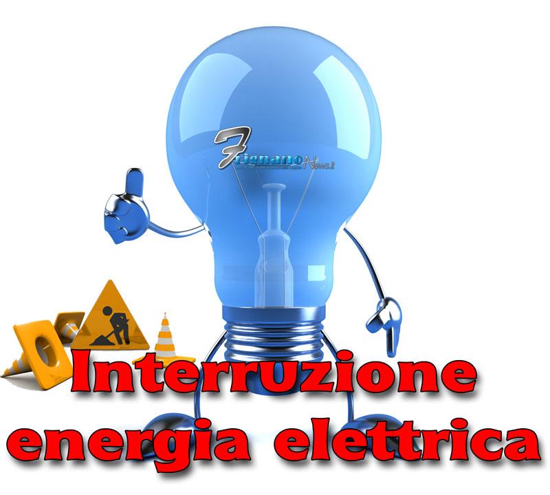 AVVISO INTERRUZIONE DI ENERGIA ELETTRICA